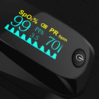 USA Fingertip Pulse Oximeter SPO2 PR PI Heart Rate Monitor OLED on Sale