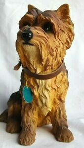 Yorkshire Terrier  Sitting Figurine large - Leonardo Dog Ornament 2017
