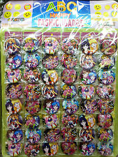 Sailor Moon 4.3CM 40x LOT PIN back BADGE BUTTON NEW PARTY BAG CLOTH