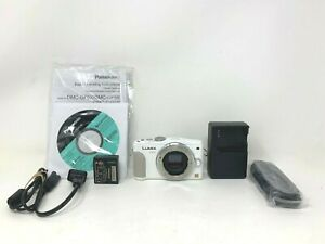 Panasonic Lumix DMC-GF6 Mirrorless Digital Camera, White (NO LENS)