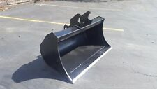 """New 48"""" Kubota KX057 (with Coupler) Excavator Ditch Cleaning Bucket"""