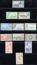 BARBADOS 1950 SG 271-282 SC 216-227 OG VF MNH ** SUPERB COMPLETE SET 12 STAMP