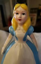 � Vintage Alice In Wonderland Walt Disney Japan 6� Figurine Mint Cond •Gc