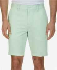 Nautica 9.5 Slim Fit Cotton Shorts Patina Green Mens Size 40 New