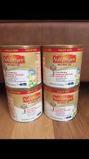 4 Brand New Sealed Value Size Nutramigen Baby Formula 19.8oz Tubs