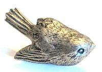 "Marjolein Bastin Signed Bird Lapel Pin Pinback 1 1/8"" * Combine Shipping!"