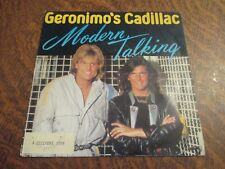 45 tours MODERN TALKING geronimo's cadillac