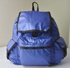 LeSportsac Cobalt Blue Lightning 7839 Voyager Backpack