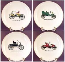 LOT of 4 - CUNNINGHAM & PICKETT VINTAGE HISTORICAL AUTOMOBILE PLATES