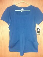 Jockey Womens Navy Blue Activewear Top Shirt Small New