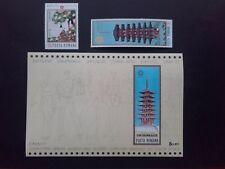 1970 - Romania - Expo'70 Osaka ,Mi.2838 - 2839, Bk.80 MNH