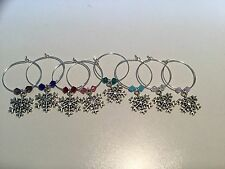 Wine Glass Marker Charms #003 makes a great host gift or hostess gift