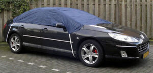 NEW WATER RESISTANT CAR TOP ROOF HALF FROST COVER FOR SAAB 93 9-3 CONVERTIBLE
