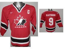 CANADA Blattmann #9 L/S NATIONAL TEAM ICE HOCKEY SHIRT JERSEY NHL youth size XLB