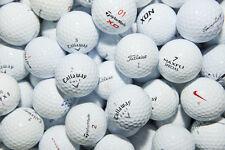 50 Titleist, NIKE, Callaway, Taylormade & Mixed golf balls Near Mint / AAA Grade