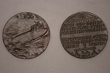 KARL GOETZ L-19 MEDALLION ZEPPELIN GERMANY GERMAN WWW1 WWI AIR SHIP BLIMP MEDAL