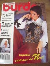 REVISTA PATRONES DE BURDA 10 VARIACIONES PANTALONES 8 PARKAS DEPORTES 10 /1993