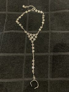 New, Chain Anklet With Adjustable Toe Ring, Unwanted Gift