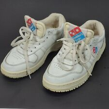Vintage 80s 90s Dominos Pizza Shoes Rare Women's Sz 7 Employee Crew Dad Htf