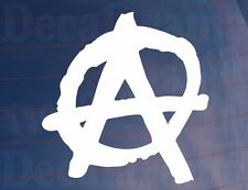 ANARCHY SYMBOL Novelty Car/Van/Window/Bumper/Laptop Punk Sticker/Decal