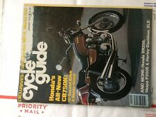 CYCLE GUIDE JANUARY 1979  HONDA CB750K moto morini kenny roberts XLS