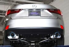 Invidia Q300 110mm Titanium Tip Axle-Back Exhaust for IS200t IS250 IS300 IS350