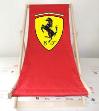 Ferrari Strandliege aus BUCHENHOLZ / Sonnenliege / Gartenstuhl sebastian vettel