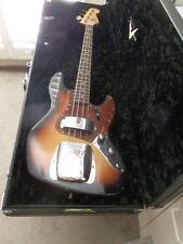 Fender Custom Shop 1960 Journeyman Relic Jazz Bass Aged Sunburst Free Shipping