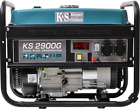 2900 W Gas- u. Benzin-Generator Stromaggregat Stromerzeuger KS 2900G 12 V