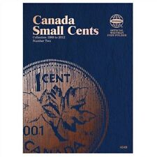 WHITMAN Canada Small Cents Number 2 Two 1989-2012 Folder Album #4049