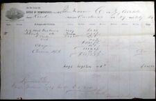 1864 CIVIL WAR ERA CARDENAS BRIG ALTABELA JOHN MASON CO PHILADELPHIA SUGAR TRADE