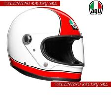 X3000 SUPER AGV CASCO HELMET LEGENDS MULTI RED / WHITE MIS. L