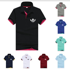 Adidas Polo T-Shirt Casual Cotton Mens High Quality Short Sleeve Sportswear Tops