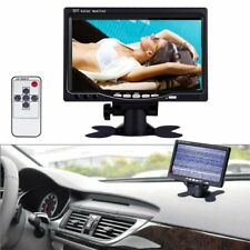 7'' TFT LCD Color 800*480 Monitor For DVD VCR Car Rearview Headrest Monitor