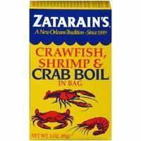 2 Zatarains Crawfish Shrimp Crab Boil 2x3oz FREE SHIPPING