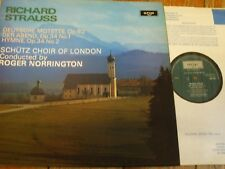 ZRG 803 Strauss Choral Music / Norrington / Schutz Choir of London