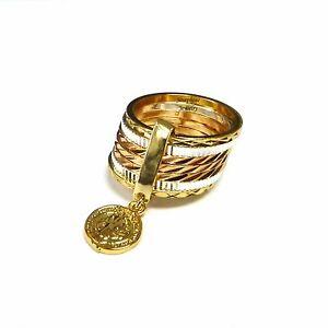 14k Gold Plated Saint Benedict San Benito 7 Days Semanario Ring Size 5-11