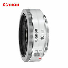 Canon EF 40mm f/2.8 STM 0.98 ft/0.3m Pancake Lens _ white <Non-retail packaging>