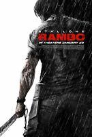 "Rambo movie poster - Rambo  : 11"" x 17"" - Sylvester Stallone poster"