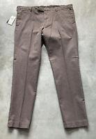 NEW Polo Ralph Lauren Slim Fit Houndstooth Mens Dress Pants Sz 38X32 Retail $168