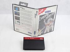 Sega Master System Cyborg Hunter No Manual PAL