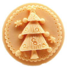 Soap Molds Silicone Soap Making Molds Craft Molds Resin Mold Chrismas Tree Round