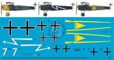 Peddinghaus 1/48 Fokker D.VII (ALB Late) Markings Jasta 17 / 33 (3 vers.) 3796