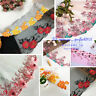 1 Yard Embroidered Floral Tulle Lace edge Trim Ribbon Fabric Sewing Crafts FL230