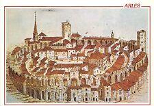 B31518 Arles L`amphiteatre du Moyen Age au debut  france