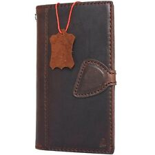 Genuine real leather case fit LG G6 Slim handmade luxury magnetic cover book g 6
