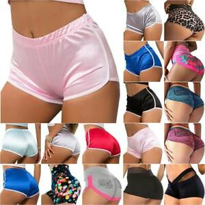Womens Cycling Sports Yoga Gym Shorts Running Fitness Casual Exercise Hot Pants