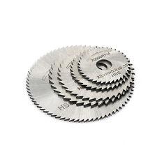 6PCS HSS Circular Saw Cutting Blade Disc Kit For Mini Drills Rotary Tool 5 Sizes
