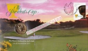 PNC Australia 2011 The Presidents Cup Golf RAM $1 Commemorative Coin