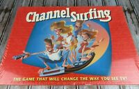 Vintage 1994 Channel Surfing TV Board Game By Milton Bradley New Sealed Ages 12+